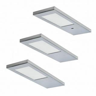 Rolux 3 Er Set LED Küchen Unterbauleuchte Ella 3x3, 5 W Warmweiss Dimmbar *