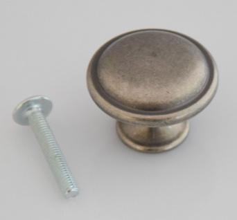 Schrankknöpfe Möbelknopf Ø 30 mm Möbelknauf Altzinn Antik Landhaus Knopf*702-ZNA