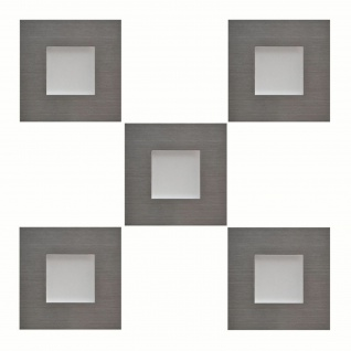 5-er Set LED Edelstahl Sockel Einbauleuchte 5 x 0, 35 W Küche Warmweiss *543441 - Vorschau 1