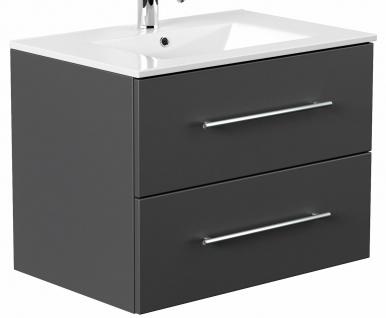 Waschtisch mit Unterschrank 70 cm kleiner Waschplatz Homeline Badmöbel Gäste Bad