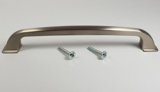 Möbelgriff Griffe Küche BA 160 mm Küchengriff Edelstahloptik Türgriffe *665-13