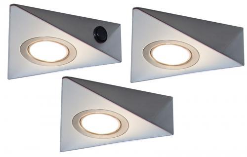 3 er set led k chen schrank unterbauleuchte 3 watt leuchten lampenset 548828 kaufen bei. Black Bedroom Furniture Sets. Home Design Ideas