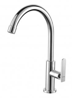 Kaltwasserhahn Standventil Messing Kaltwasser Armatur Auslauf Wasserhahn *0619