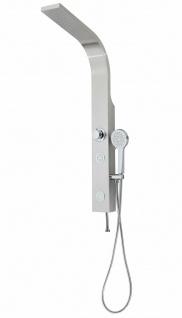 Duschpaneel Edelstahl Duschset Brauseset Duschsystem Massage-Düsen Dusche *0810