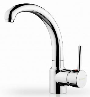 Küchenarmatur Armonica Spültischarmatur verchromt Einhebelmischer Wasserhahn