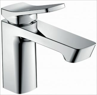 Waschtischarmatur Badarmatur Wasserhahn chrom Waschbecken-Armatur Ocean *0475