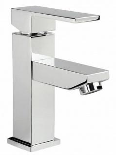 Waschtischarmatur Karo Waschbecken Armatur chrom Badarmatur Wasserhahn *0418