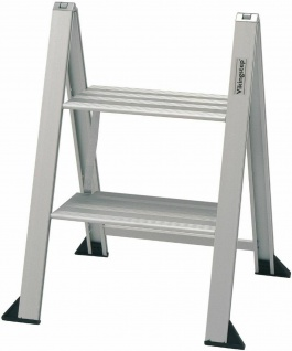 Klapptritt Klappleiter Aluminium Trittleiter Vikingstep® Mini max.150 Kg *559145