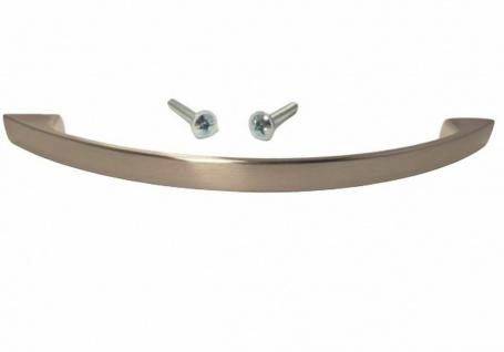 Schrankgriffe Möbelgriffe BA 128 mm Edelstahloptik Bogengriff Küchengriff *4021 - Vorschau 1