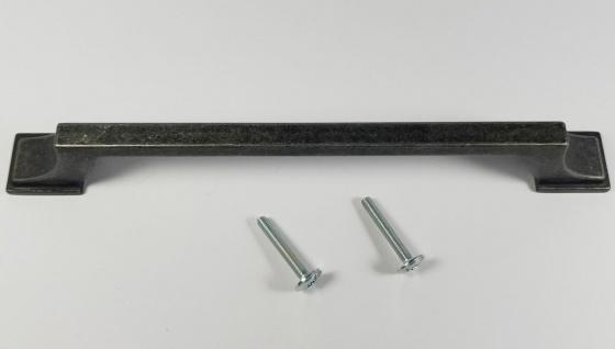 Küchengriffe BA 160 mm Möbelgriffe Eisenfarbig Schwarz antik Schrankgriffe *1507