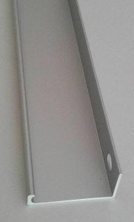 Schrankgriff Schubladengriff Aluminium 793 mm Möbelgriff Griffleiste silber 1086
