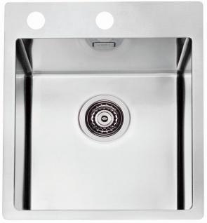 Alveus Küchenspüle Einbauspüle 405x525 mm Edelstahl Spülbecken Pure 10 *1103607