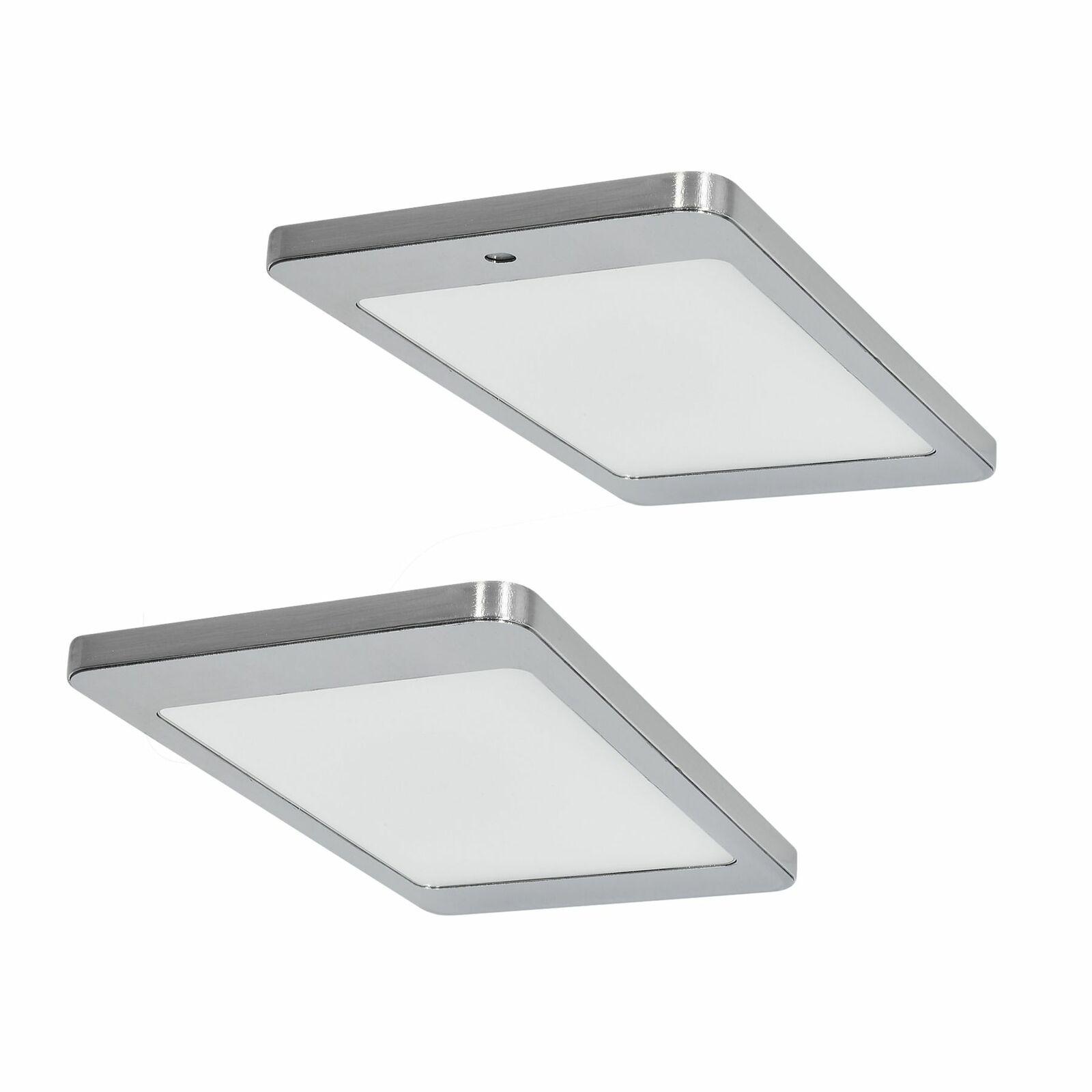 LED Unterbauleuchte Küche 2 x 4, 8 W Kyra Warmweiss Schrank ...