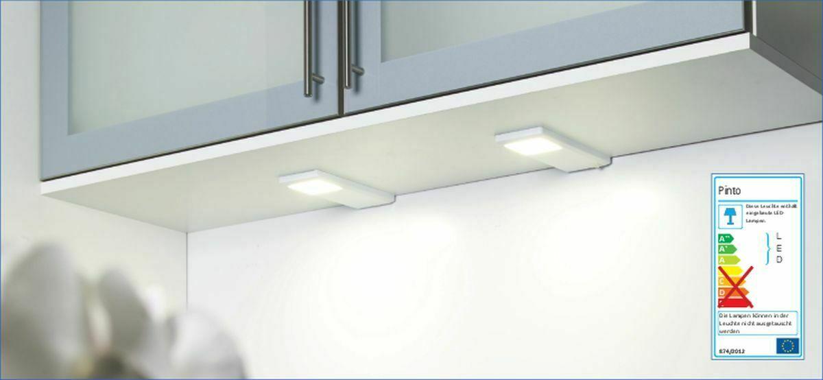 LED 5-er Set Küchen Unterbauleuchte PINTO 5 x 3 W LED Lampen ...