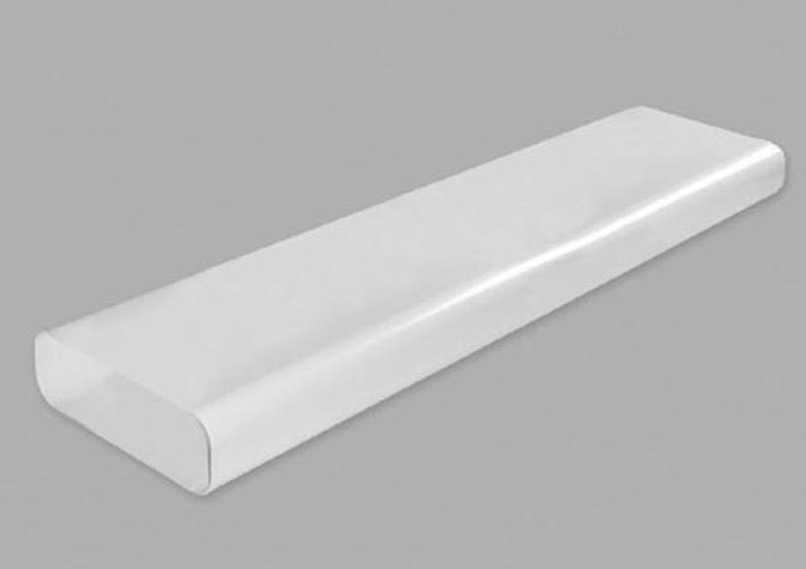Abluft Küche power 150 flachkanal 230x80mm lüftungsrohr 100cm abluftkanal abluft