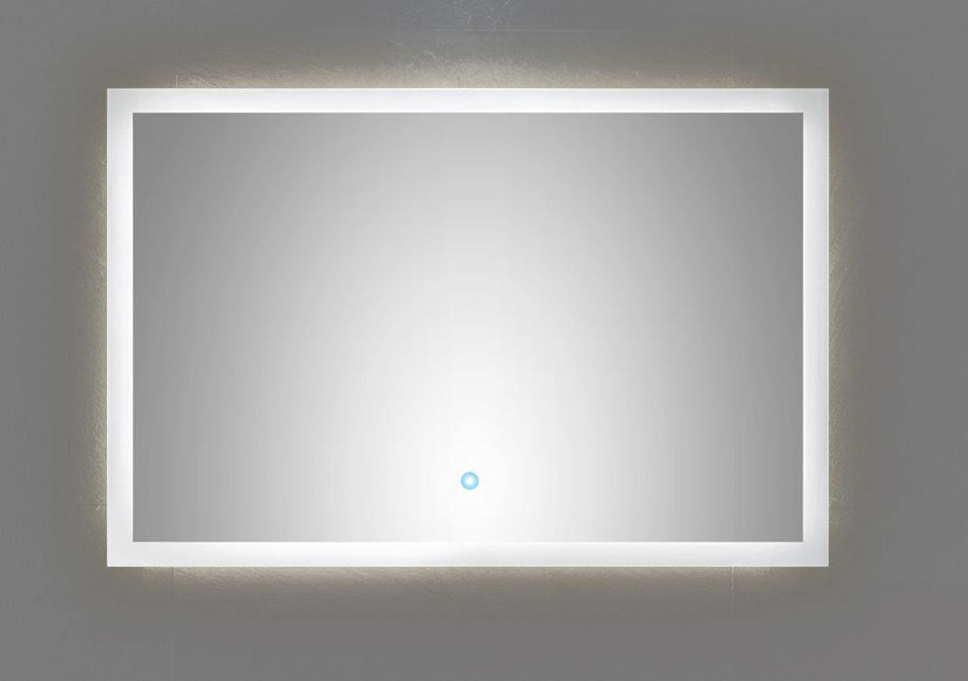 Badezimmer Wand LED Spiegel EMOTION 90 x 60 cm Touch Bedienung 34 W ...