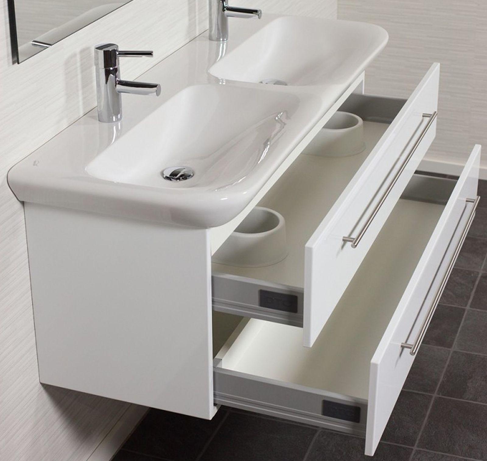 waschplatz 130 cm waschtisch keramag becken softclose auszug aufgebaut myday130 kaufen bei. Black Bedroom Furniture Sets. Home Design Ideas