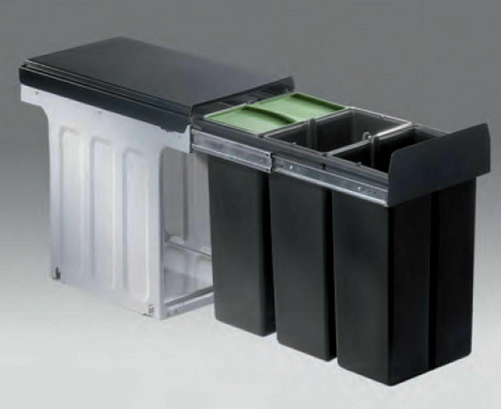Wesco Küchen Abfalleimer Bio Mülleimer 19 L Müllsammler ab 19 cm Schrank  *19