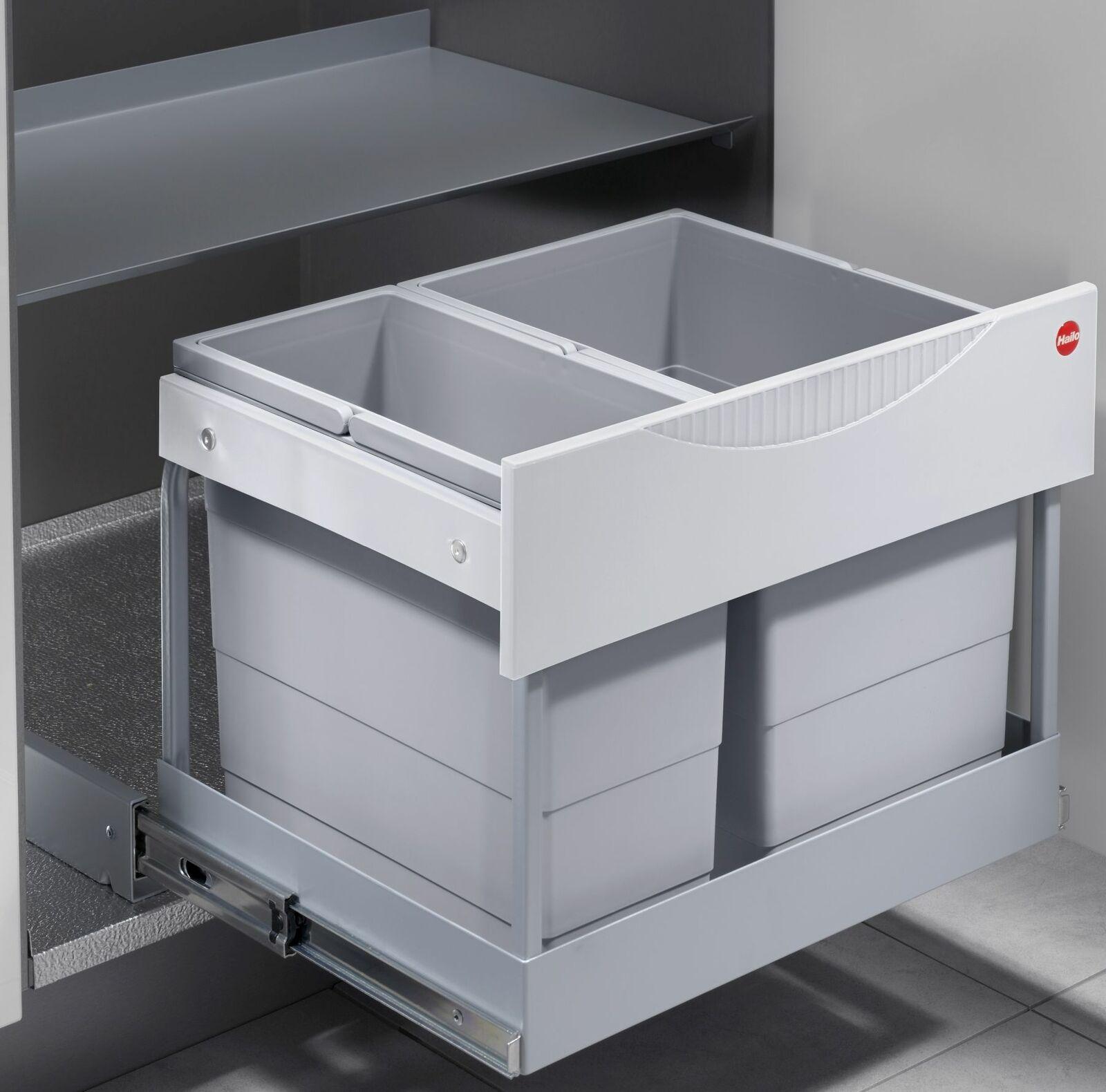 Einbau-Mülleimer Küche 30 L Müllsammler Abfalleimer Hailo Müllsystem *516063