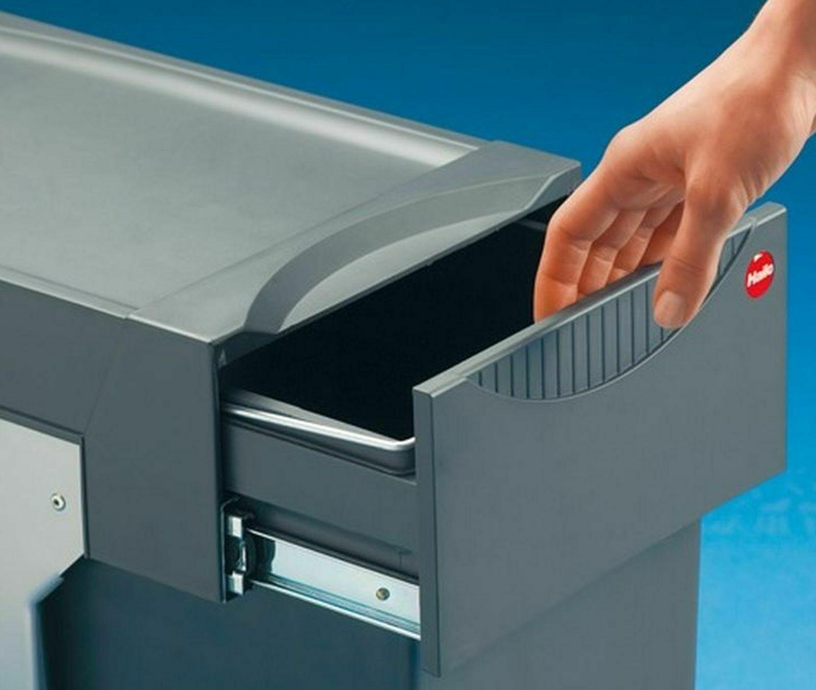 Mülleimer Küche Hailo Müllsystem Mülltrennung 1x15, 2x7 Liter Bioeimer *43656