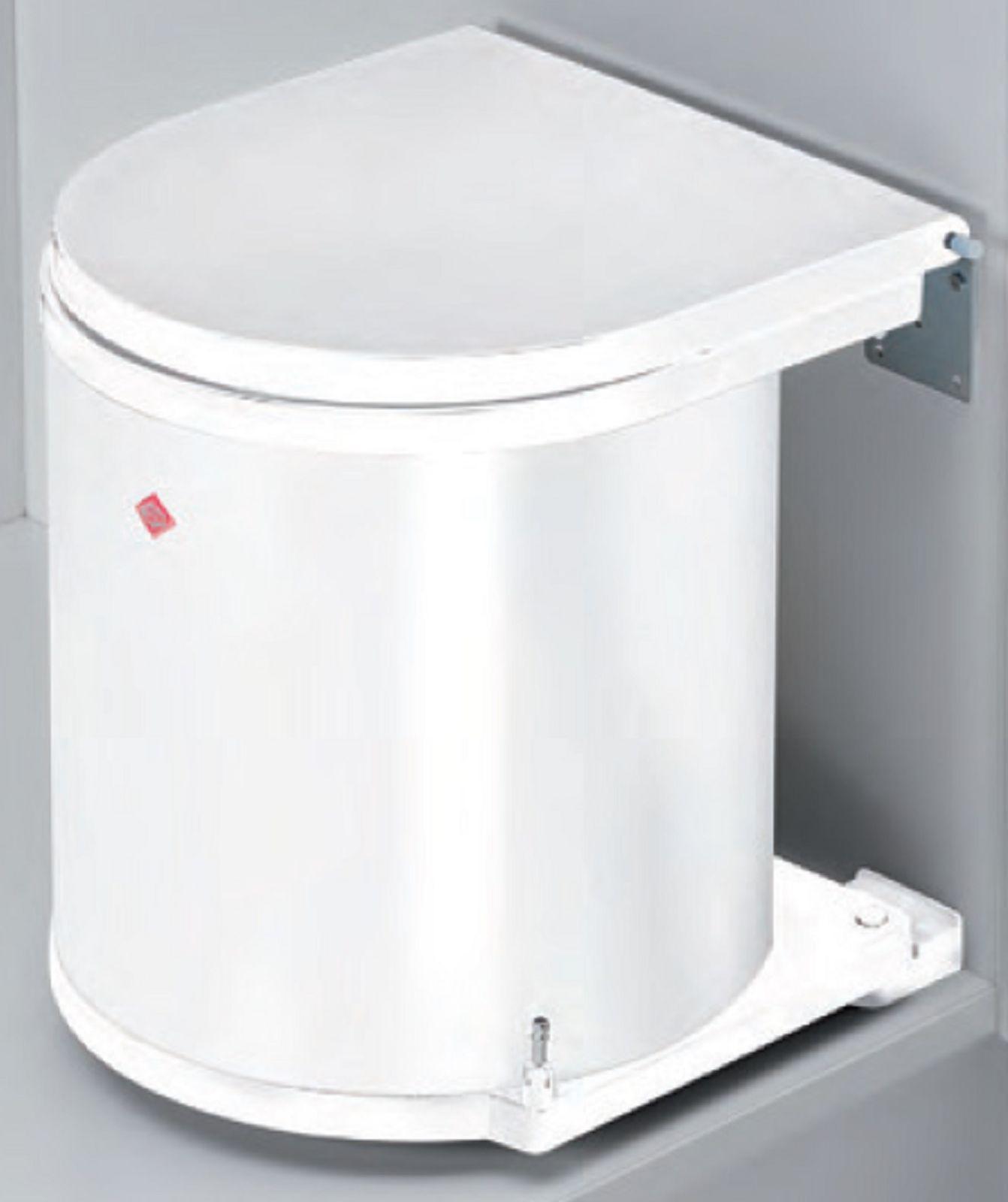 Mülleimer Küche Einbau | Wesco Abfall Mulleimer Bad Wc 15 Liter Kuche Einbau Kosmetikeimer