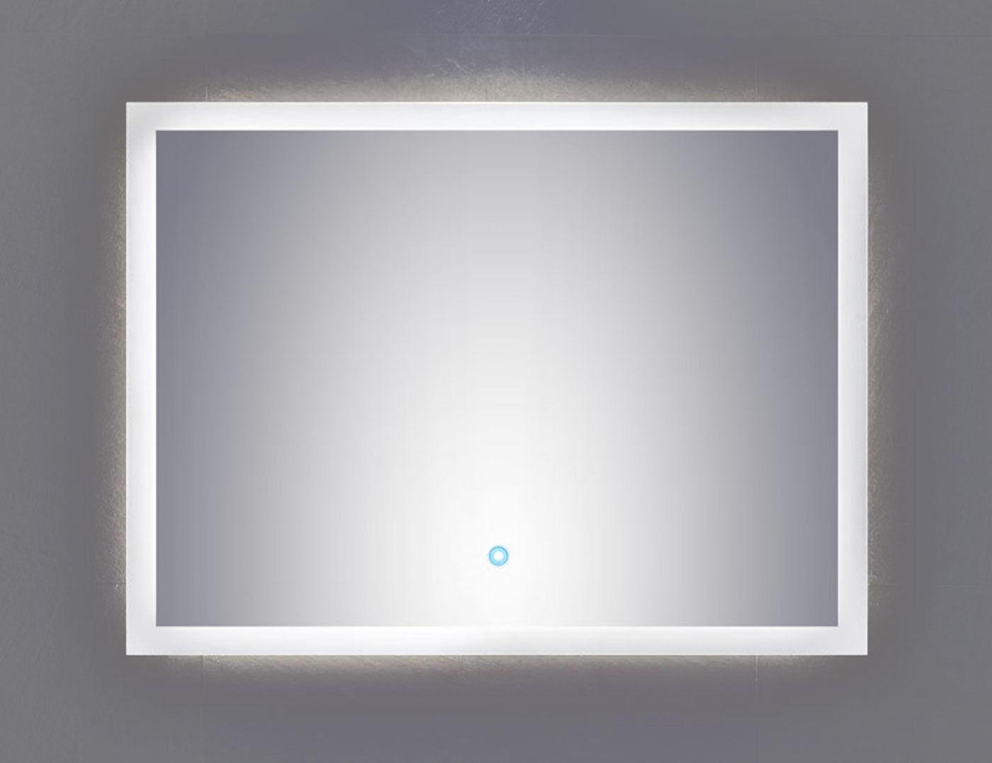 Led Badezimmer, led badezimmer wand spiegel emotion 80 x 60 cm touch bedienung 34 w, Design ideen