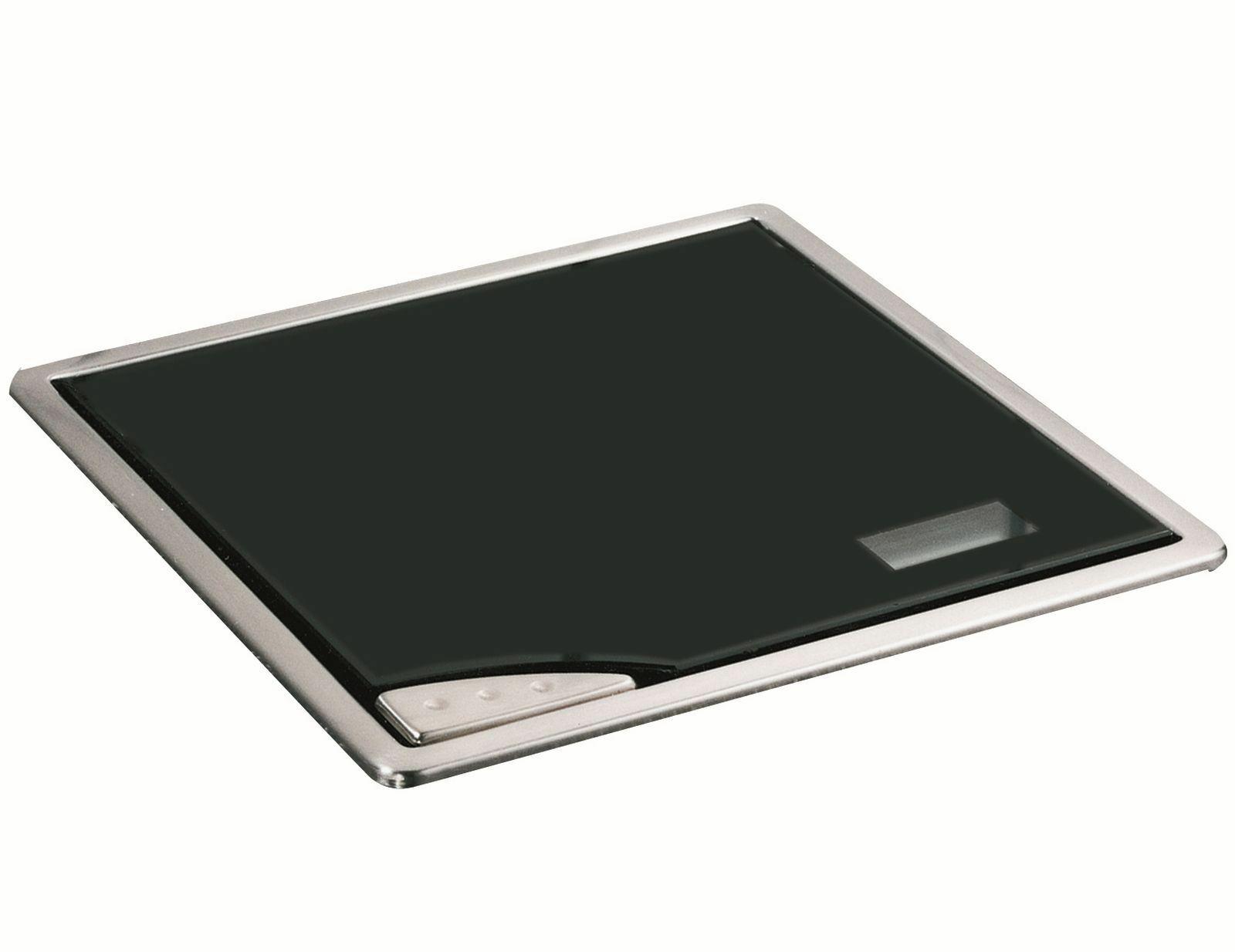 Einbau Kuchenwaage Glas Edelstahl 210 X 210 Mm Digitalanzeige Max 5