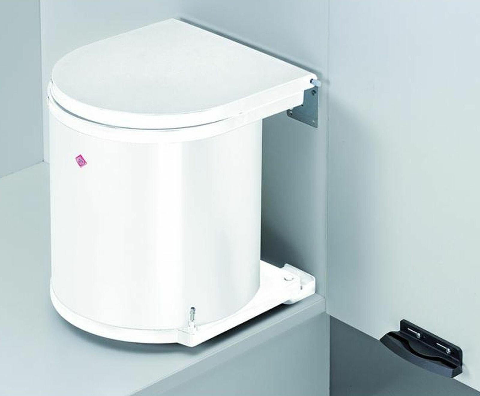 Wesco Mülleimer Küche 13 Liter Einbau Kosmetikeimer ab 40cm Unterschrank *514625