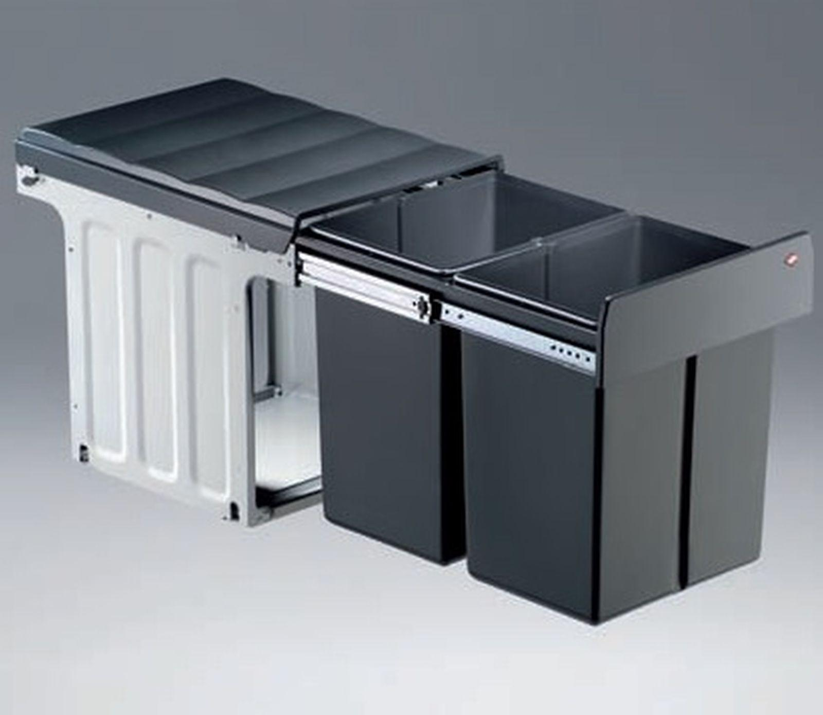 Wesco Double Master 40 Dt Abfallsammler 2 X 16 Liter Kuchen
