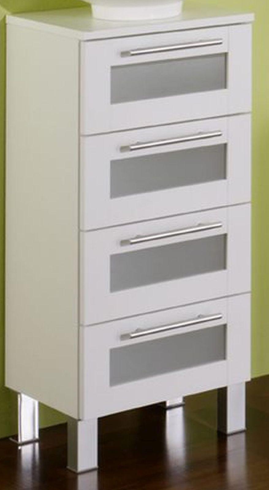 LP Badezimmer Unterschrank 4 Schubladen 35 X82 X32 Cm Badschrank Möbel  *US4 Elan.