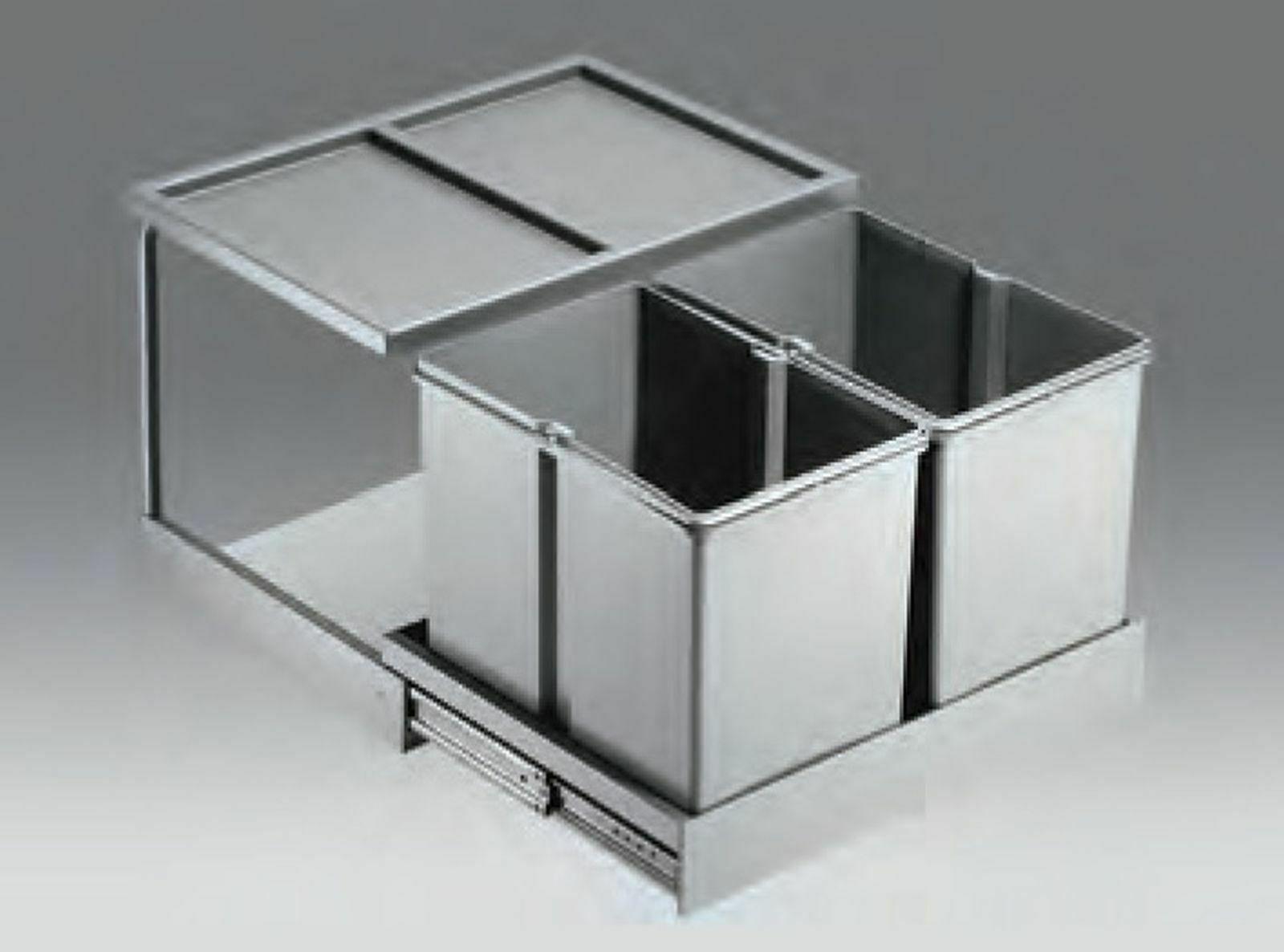 Küchen Einbau Mülleimer Wesco Müllsystem 30 L Mülltrenner Abfalleimer *40741
