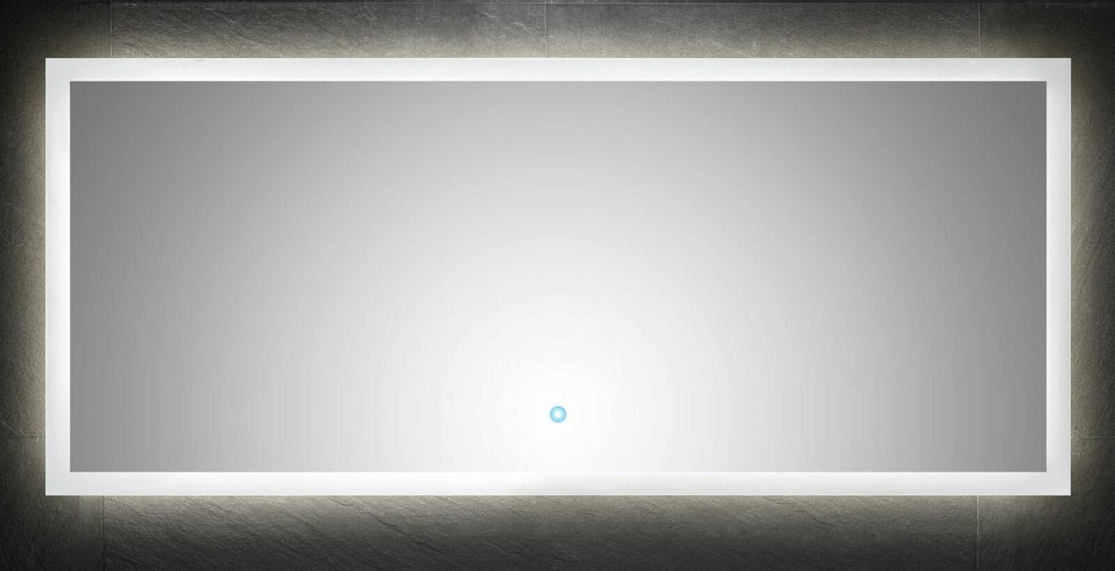 LED Spiegel 100x60 cm mit Touch Bedienung