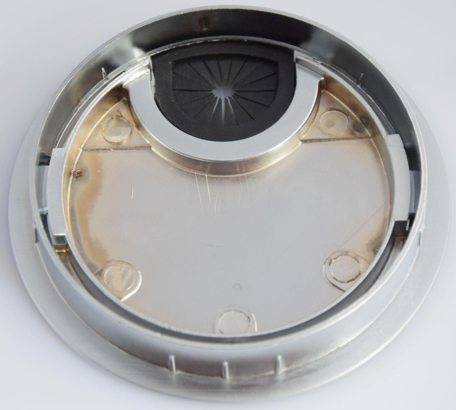 Kabeldurchlass Ø 60, 80 mm Metall Aluminiumoptik Kabeldose ...