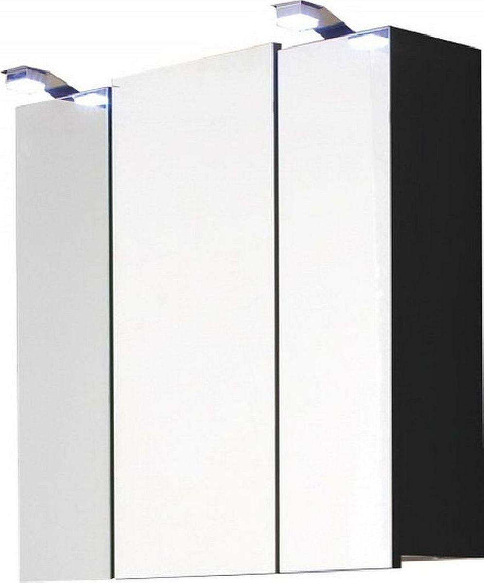 Badezimmer Spiegelschrank 68 cm LED Beleuchtung Licht Wand ...