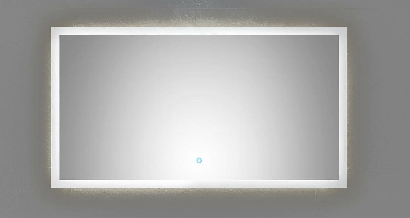 led badezimmer spiegel emotion 120 x 65 cm touch bedienung 34 watt 4500 k 12065 kaufen bei. Black Bedroom Furniture Sets. Home Design Ideas
