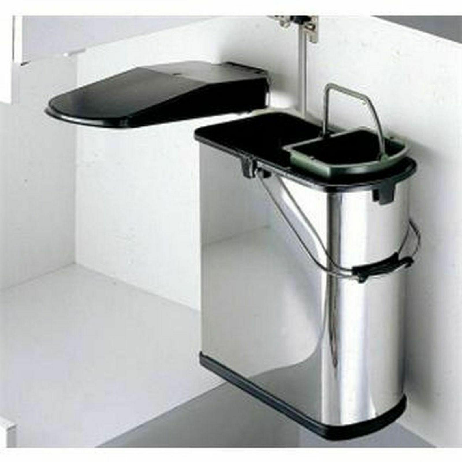 Mülleimer Küche Wesco Abfalleimer 19 L Mülltrennung Bioeimer Mülltrenner  *514915