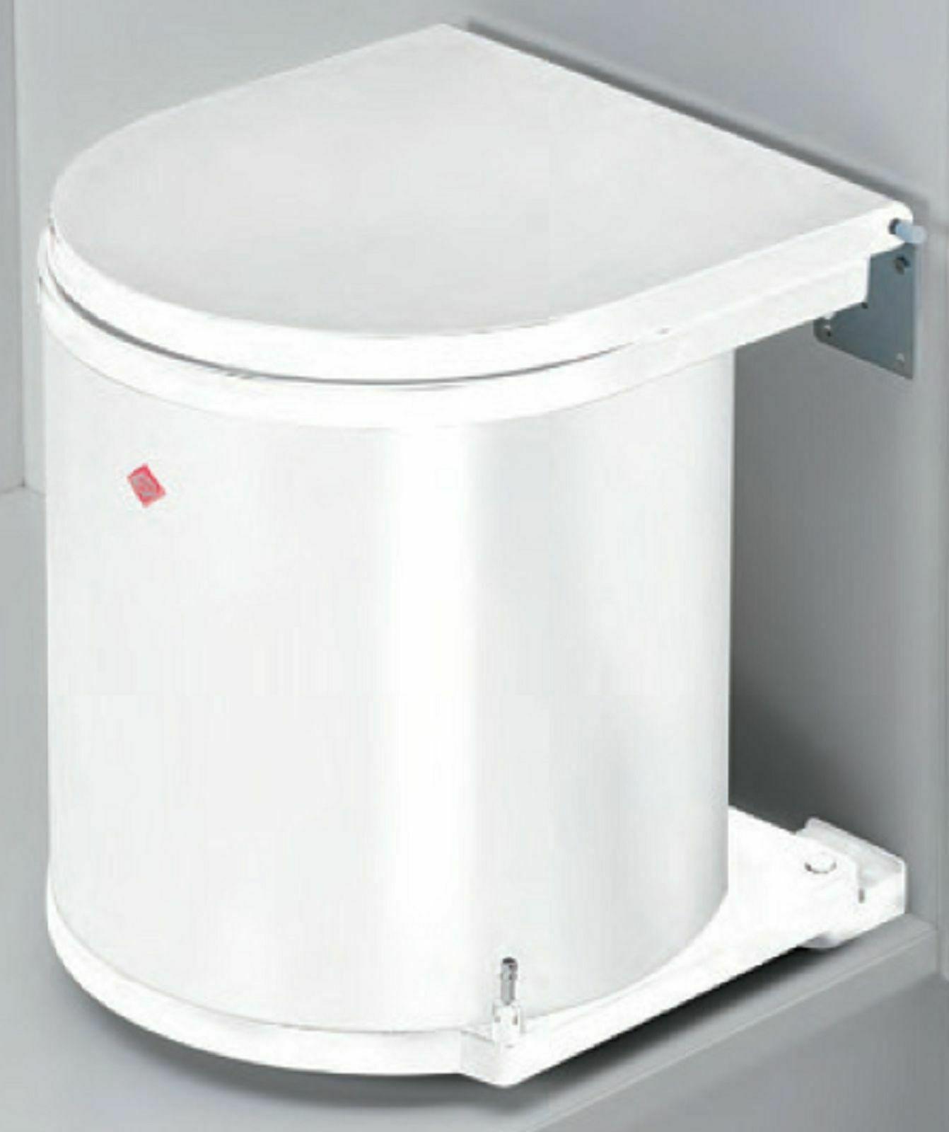 Mülleimer Küche 1x13 Liter Wesco Single Abfalleimer 40 cm Küchenschrank  *40655 - yatego.com
