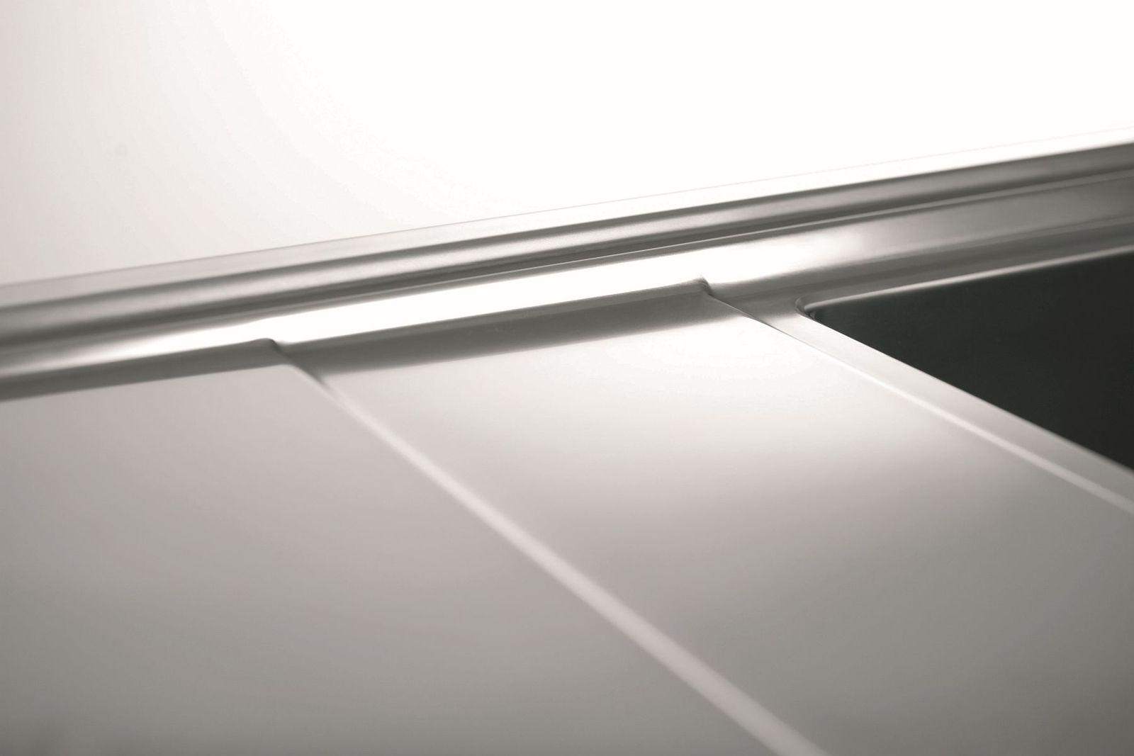 k chen einbausp le 86 x 50 cm edelstahl sp lbecken fernbedienung 107152430 kaufen bei. Black Bedroom Furniture Sets. Home Design Ideas