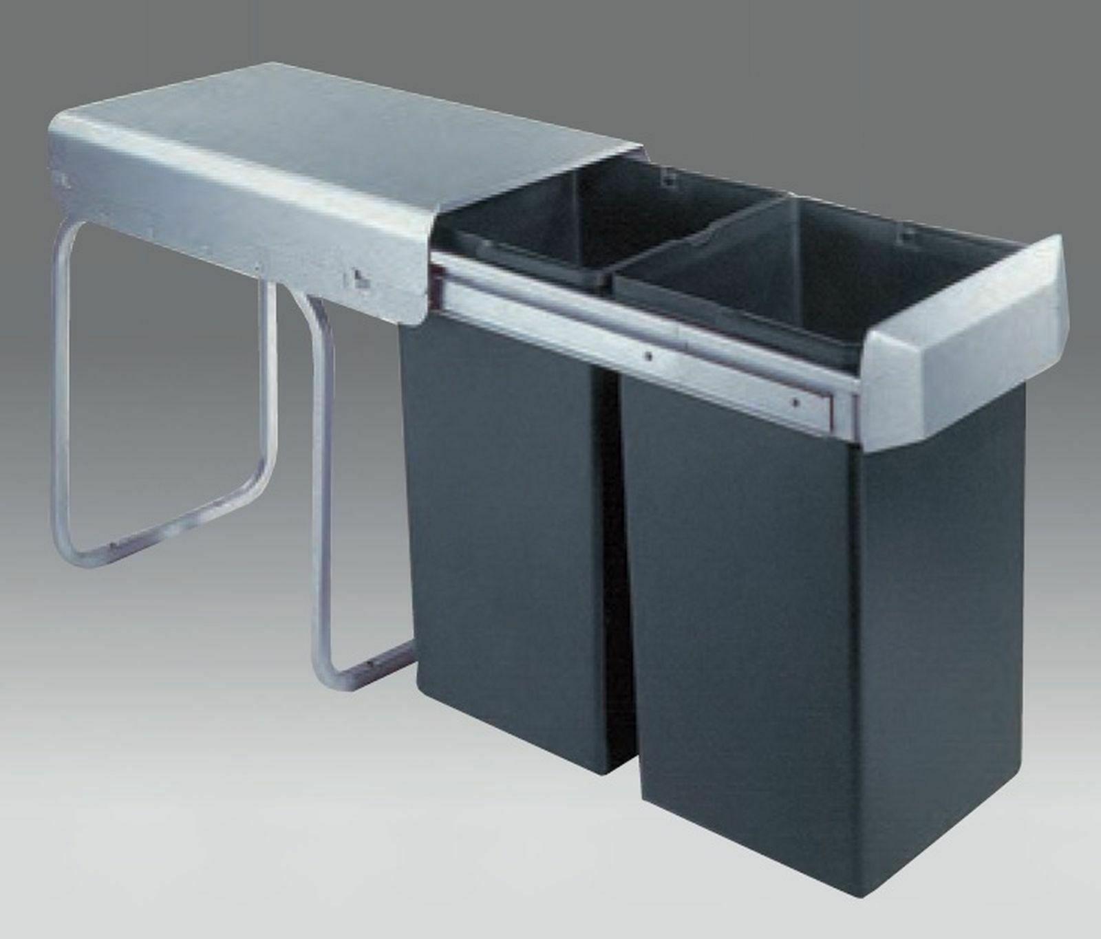 Küchen Mülleimer Abfalleimer Wesco Mülltrennung Einbau ab 30 cm Schrank  *515479