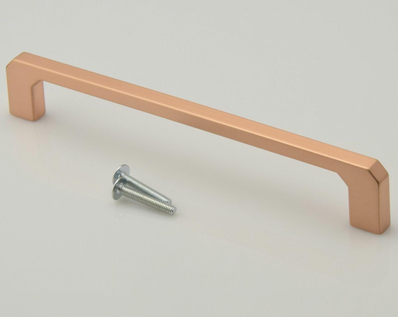 Schrankgriff Möbelgriff Griffe Küche BA 160 mm Kupfer matt Landhausstil  *735-28