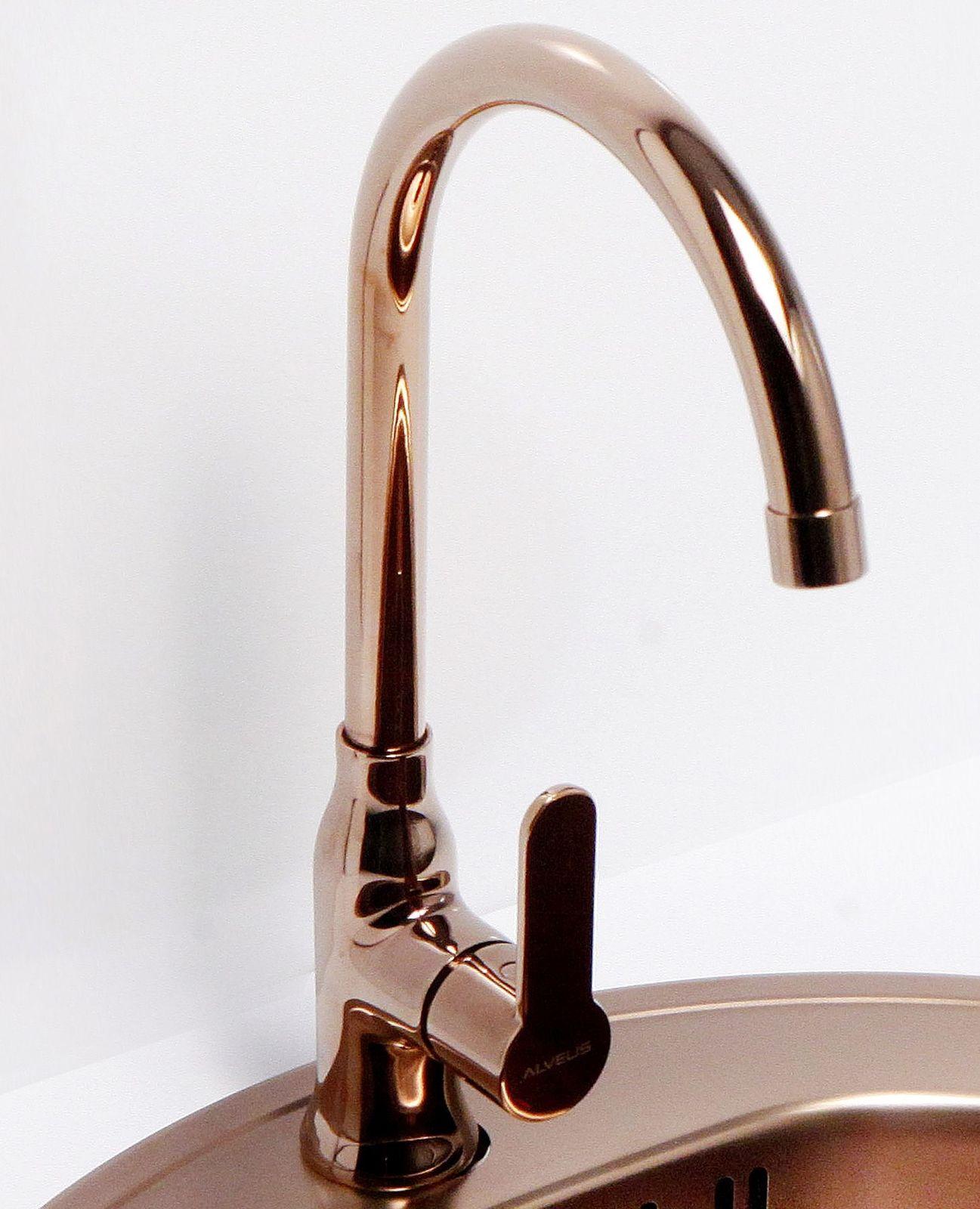 Alveus Spülen Küchen Armatur SLIM Wasserhahn Mischbatterie ...