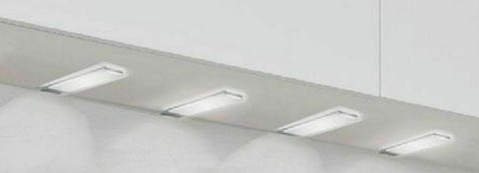LED 4er Unterbauleuchte Küche 4x3, 4 W Unterbaulampe Küchenleuchte dimmbar  *30582