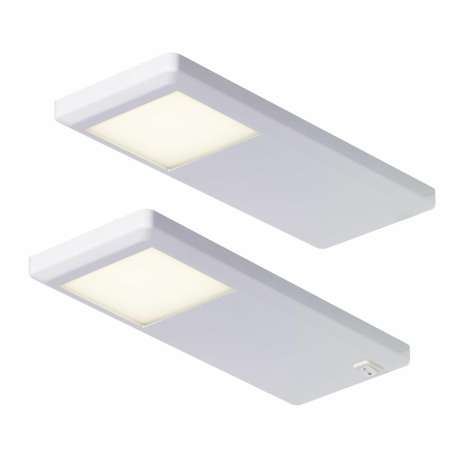 LED Unterbauleuchte Küche Pinto 2-er Set Küchenlampe 2x3 W ...
