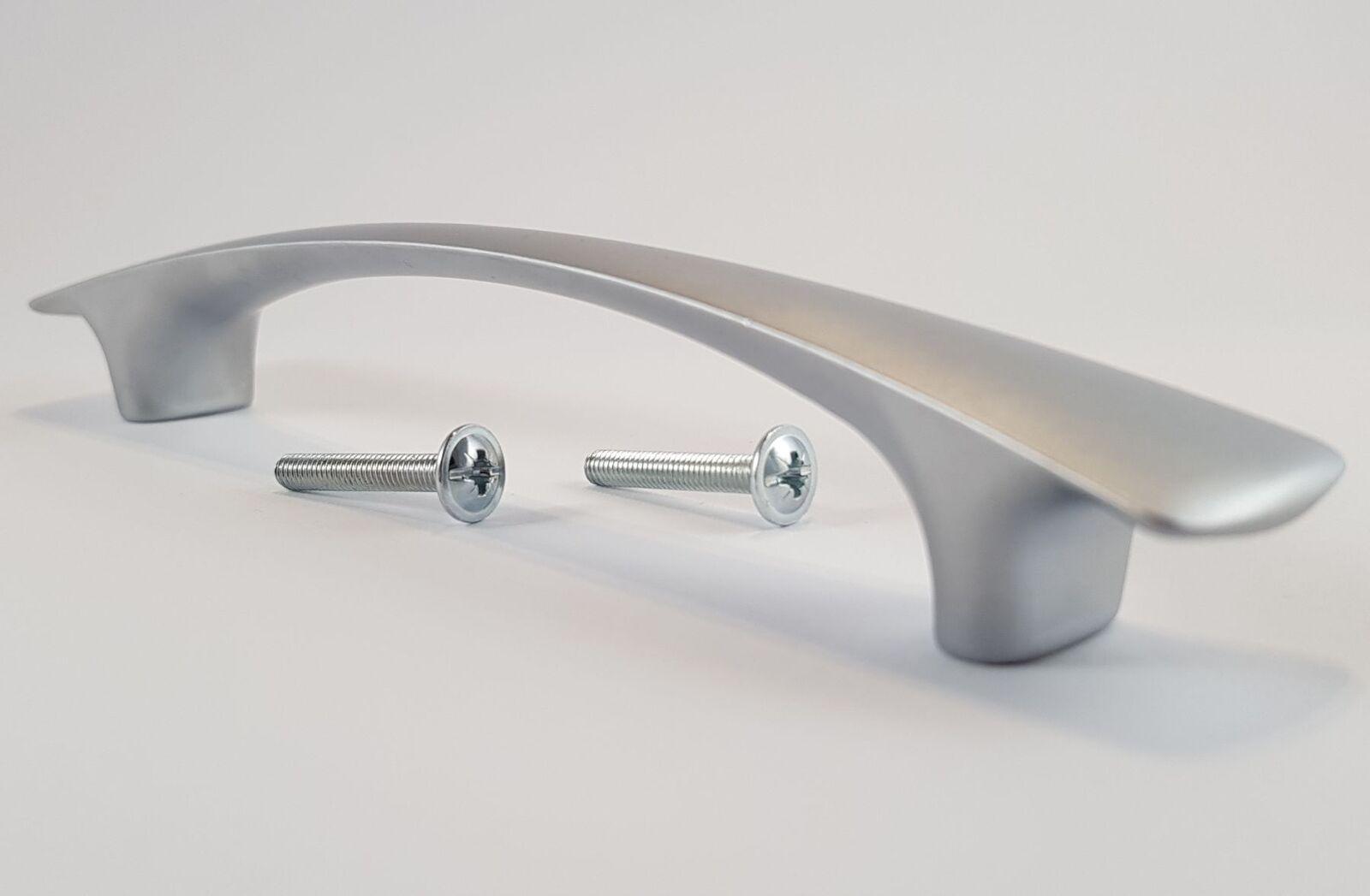 Küchengriff Ba 128 Mm Schrank Möbelgriffe Chrom Matt Silber Griffe