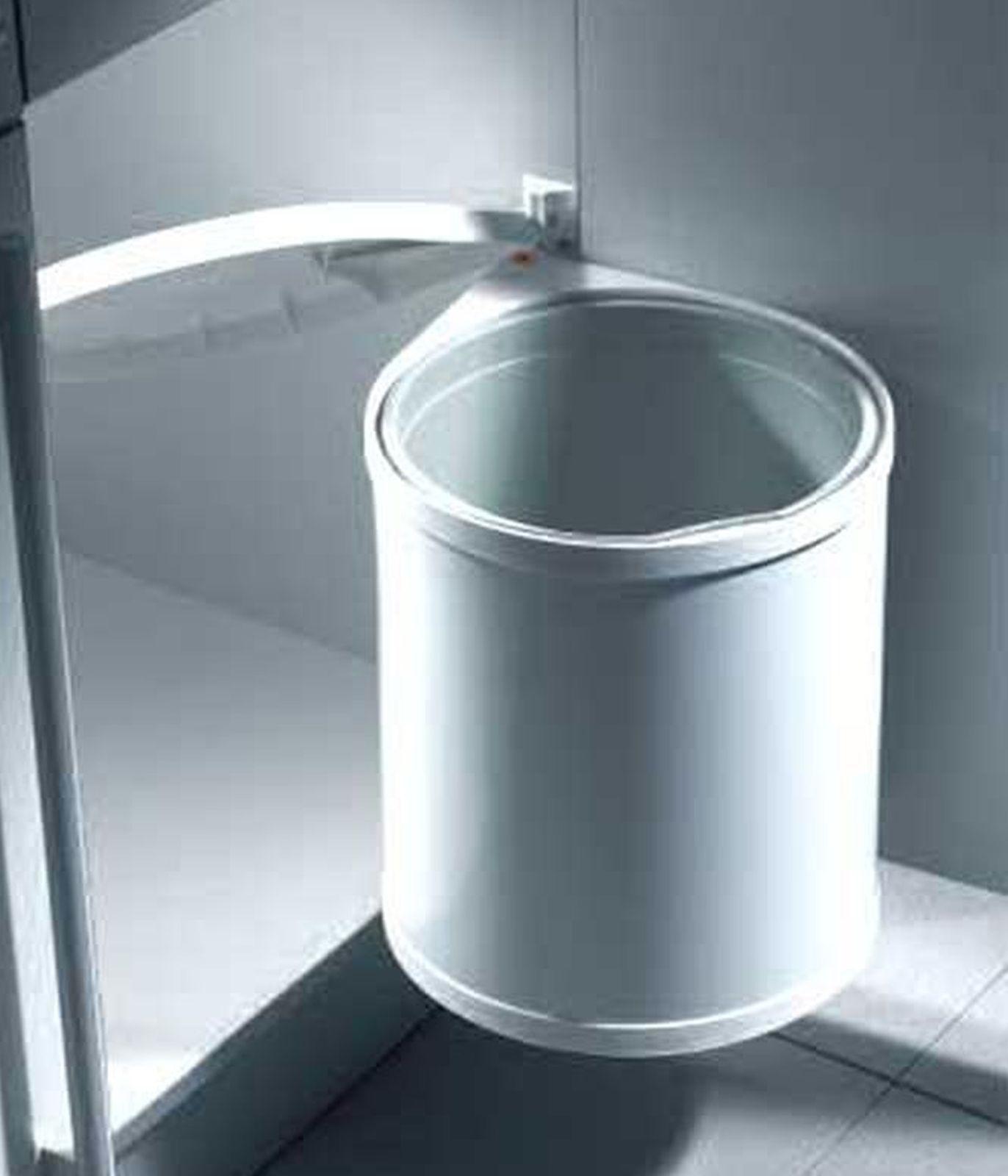 Hailo Mono Mülleimer Küche 12 Liter Abfalleimer Badezimmer ...