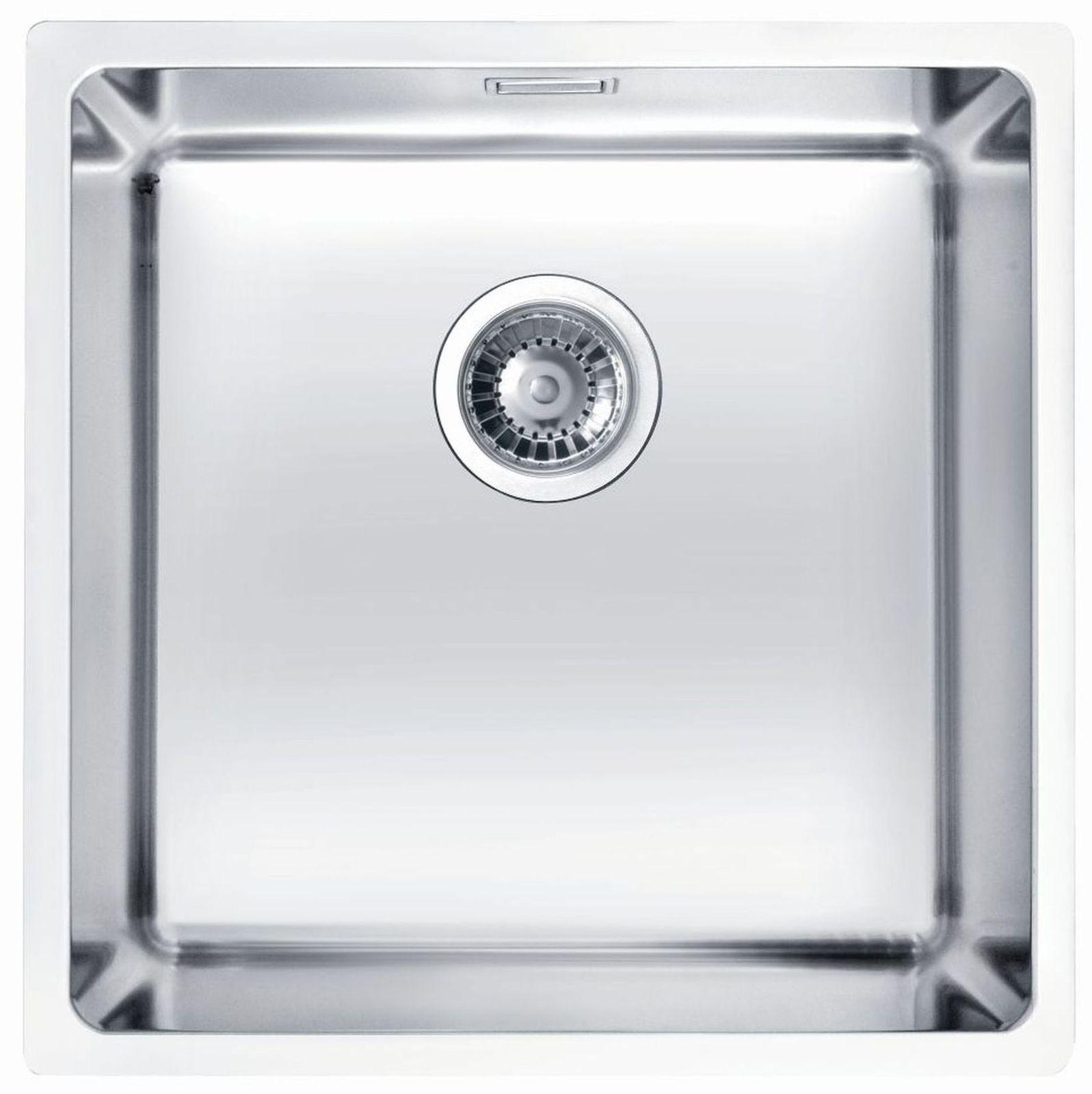 Alveus Küchen Unterbauspüle 440 x 440 x 195 mm Edelstahl ...