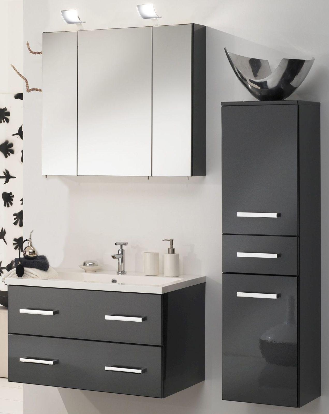 badmbel set schwarz affordable badmobel schwarz cm badmbel set schwarz weiss hochglanz led. Black Bedroom Furniture Sets. Home Design Ideas