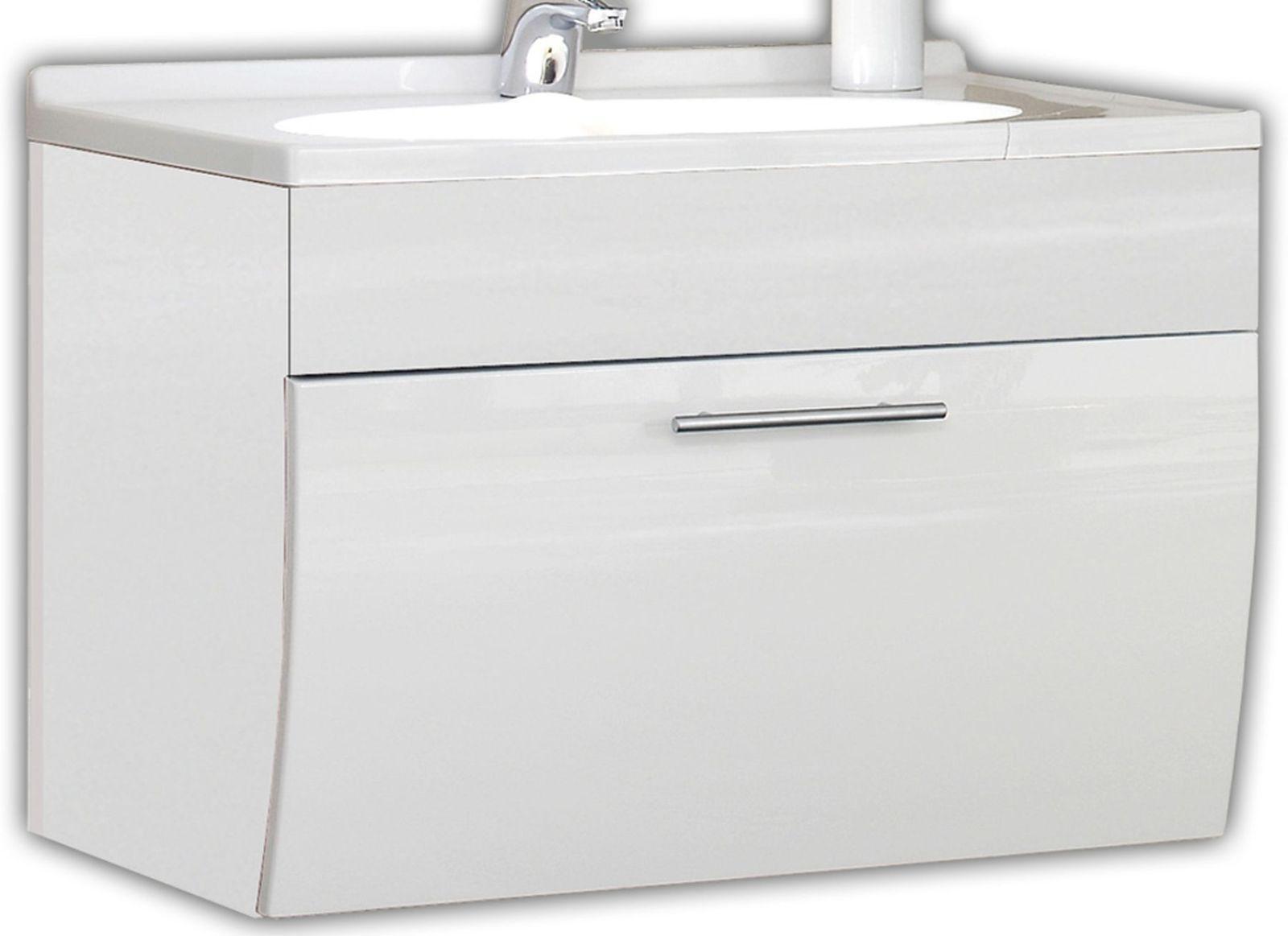 Waschplatz 70 Cm Softeinzug Waschtisch Salona Gäste Bad WC Waschbecken  *5601 76 1 ...