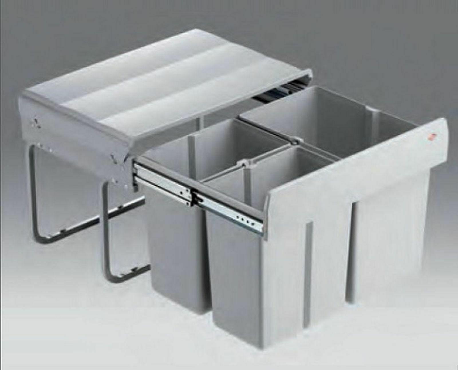 Einbau Mülleimer Küche 20 L Wesco Müllsystem Mülltrenner Bio Abfalleimer  *20