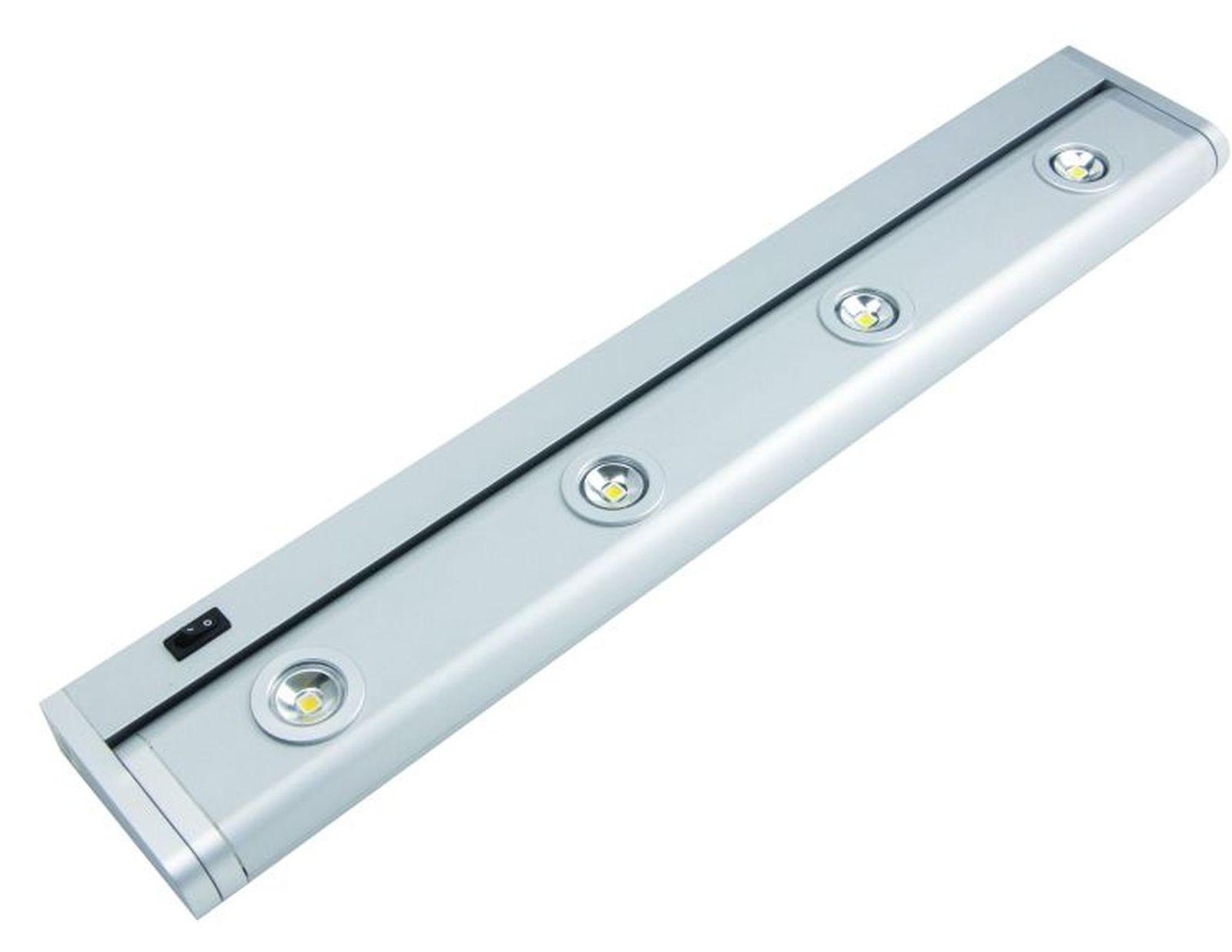 led-kchen-schrank-unterbau-schwenkleuchte-520-mm-lichtleiste-4-x-1-watt--30585 Elegantes Led Unterbauleuchte Mit Steckdose Dekorationen